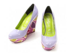 Zapatos Morados Galliuti