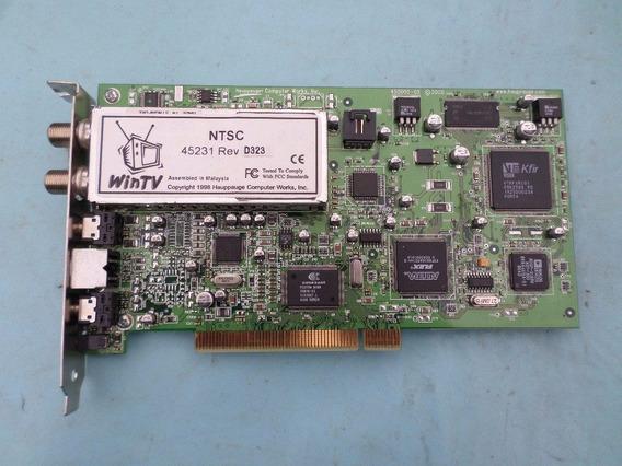 Placa De Capitura De Tv 45231-rev D323