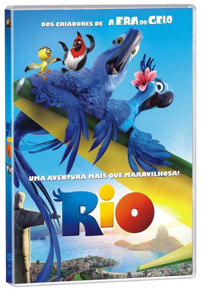 Dvd Rio - Novo Original Lacrado