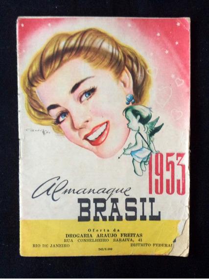 Almanaque Brasil 1953 Livreto Antigo