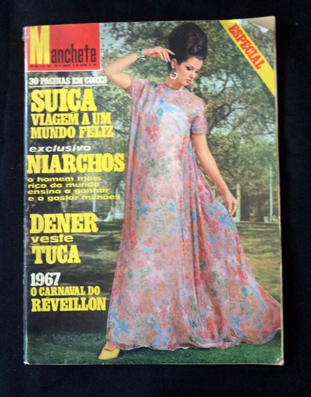 Manchete N° 769 Janeiro 1967 Revista Antiga Especial Dener