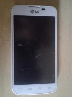 Smartphone Dual Chip Lg Optimus L5 Ii Branco Com Defeito