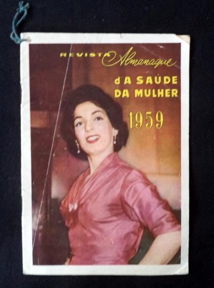 Almanaque Da Saúde Da Mulher 1959 Livreto Antigo