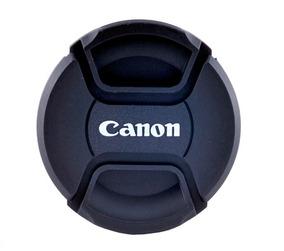 Tampa Frontal Para Lente Canon 52mm - Diâmetro