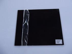 Placa (blank) 250x300x2mm 1 Camada (1 Ply) Preto