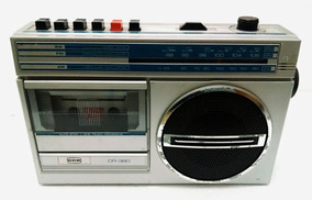 Cce Cr-380 Rádio Antigo Raridade P/ Arrumar
