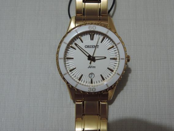 Relógio Feminino Orient Fgss1045 Ceramica Frete Grátis