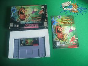 Timon E Pumbaas Jungle Games, Super Nintendo