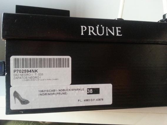 Increibles Zapatos Prune Boquita Pez