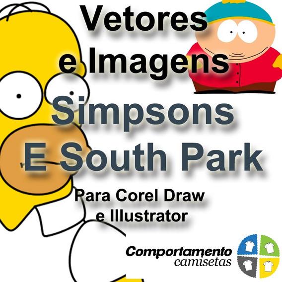 Vetores Simpsons E South Park Para Corel Draw