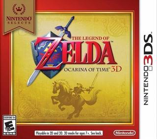 The Legend Of Zelda Ocarina Of Time Para Nintendo 3ds
