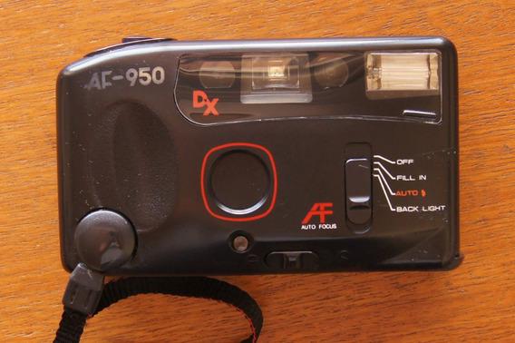 Antiga Câmera Fotográfica Mirage Af-950 Automática