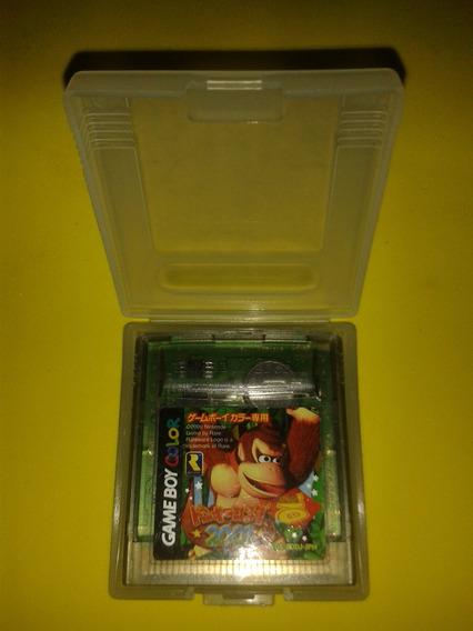 Donkey Kong 2001 Original Com Case P/ Game Boy Nintendo