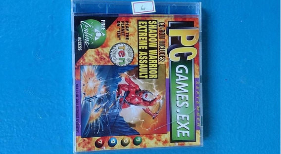 Cd De Jogo Pc Games.exe Shadow Warrior Extreme Assault...