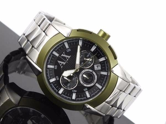 Relogio Armani Exchange Ax1175 44mm Novo Original