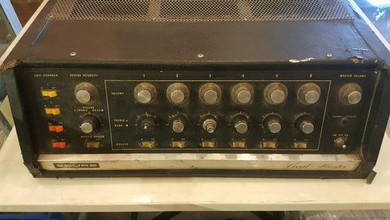 Consola Mezcladora Shure Modelo Clásico. Año 70