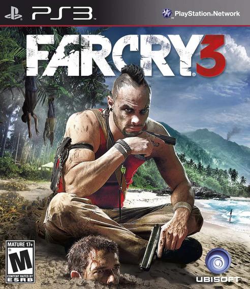 Jogo Far Cry 3 Ps3 Playstation 3 Leg Português Mídia Física