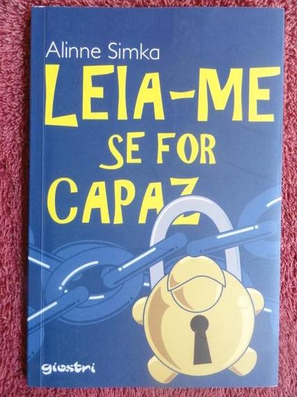 Leia-me Se For Capaz - Literatura Infanto Juvenil