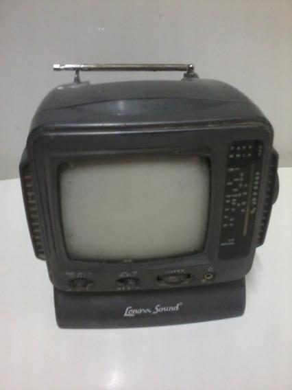 Mini Tv Portátil Lenoxx Sound 6 Polegadas Leia O Anuncio