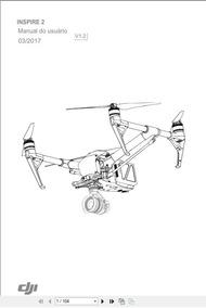 Manual Do Drone Inspire 2 Em Português