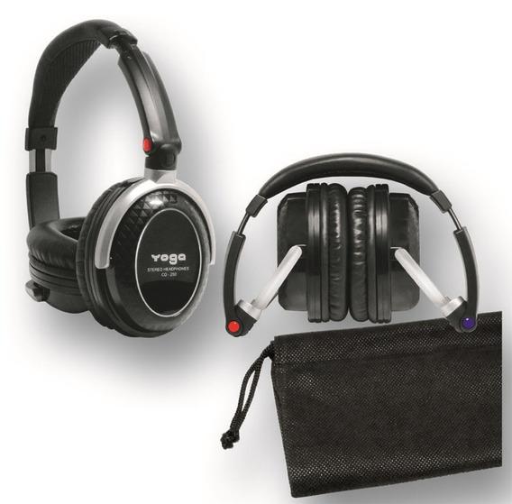 Fone Headphone Yoga Cd 250 Profissional Csr