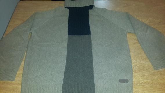 Sweater Daniel Hechter Tipo Poleron - Talle Xl - Como Nuevo!
