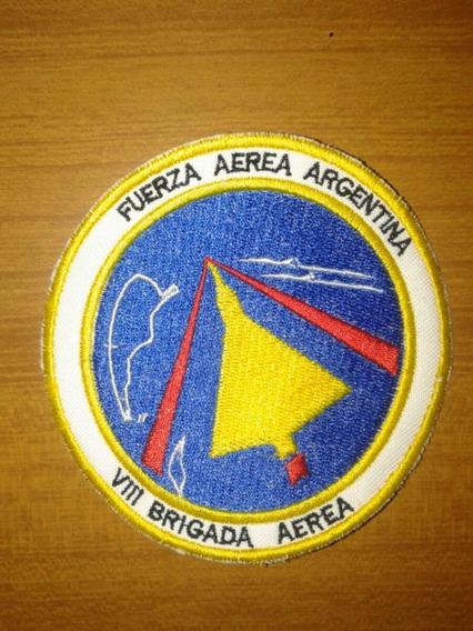 8° Brigada Aérea Fuerza Aérea Argentina Parche Bordado