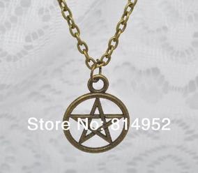 Colar Pentagrama Estrela Supernatural Protetor