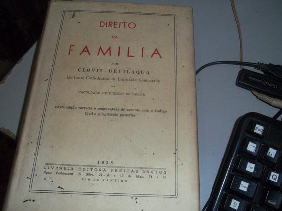 Livro Direito De Familia Bevilaqua 1938