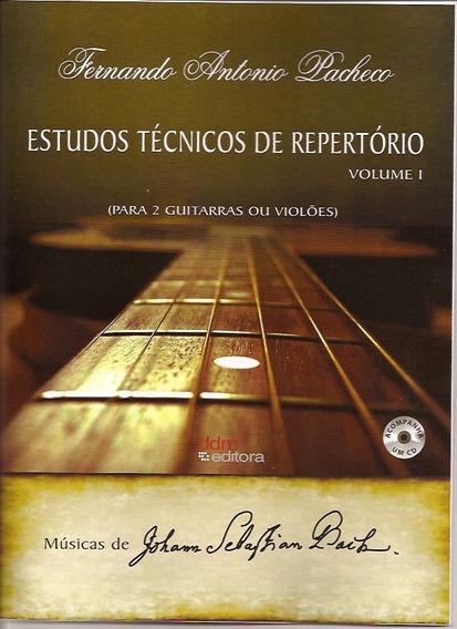 Songbook Violão/guitarra - Vol.1 - Bach