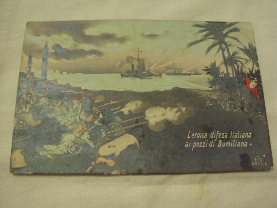 Postal Guerra Italiana Turca De Epoca,unica En El Sitio