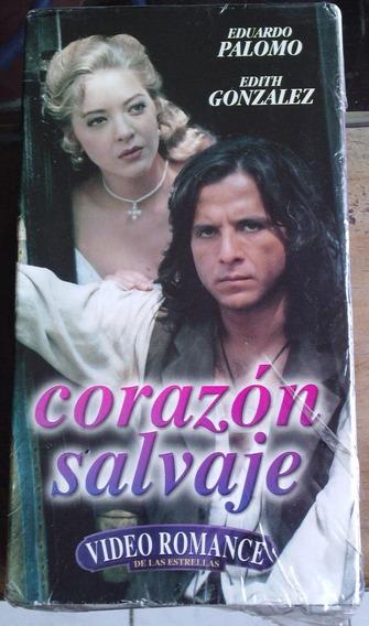 Telenovela Corazon Salvaje Paquete Nuevo De 2 Vhs