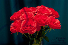 Primavera Flores Artificiales Rosas Artificiales 24 Flores