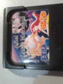 Ariel The Little Mermaid Game Gear Jogo Raro E Origina Top!!