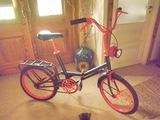 Bicicleta Aurorita Tipo Folding R 20 Con Farol
