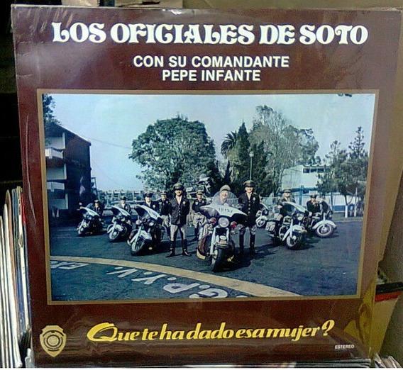 Pepe Infante Oficiales De Soto Lp Muy Raro Pedro Infante