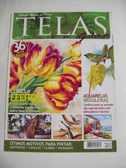 Revista:telas Galeria Nº 34: Aquarelas Brasileiras - Fauna
