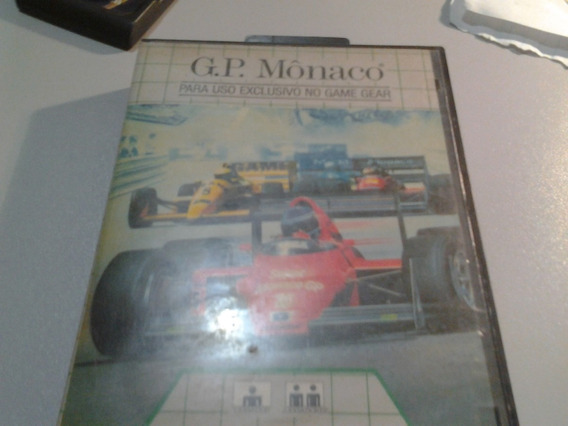 Super Monaco Gp Game Gear Top E Impecavel E Completa!!!!