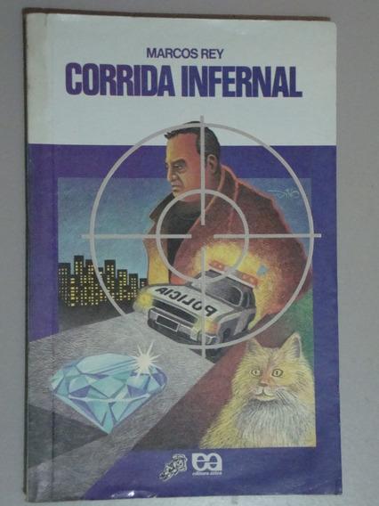 Livro Corrida Infernal - Coleção Vagalume