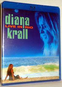 Blu-ray Diana Krall - Live In Rio - Promoção Apenas 1 Un.