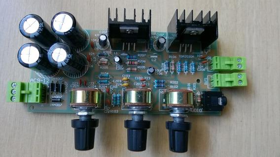 Kit Placa Montada Amplificador Estéreo 36 Watts