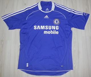 Camisa Do Chelsea Samsung Mobile - adidas Tamanho G