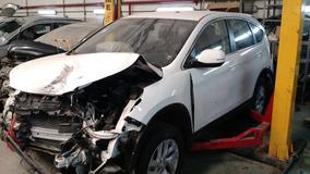 Honda Cr-v Lx 2015 Aut Chocados Dada De Baja Con 04