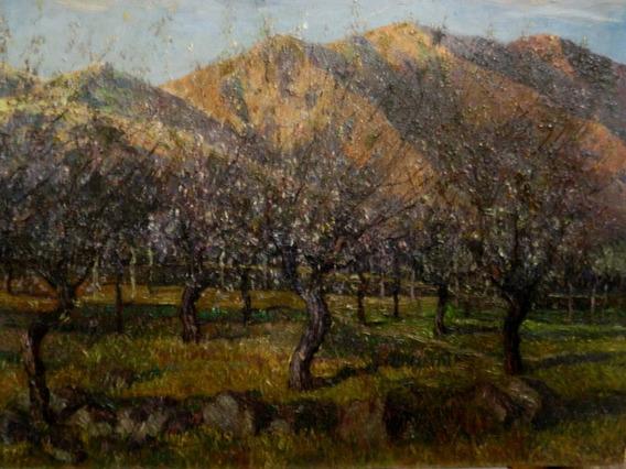 Egidio Cerrito. Primaveral En La Montaña - Óleo Envío Gratis
