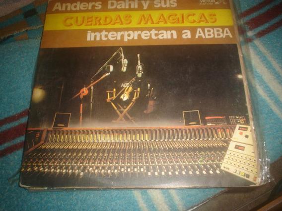 Anders Dahl Y Sus Cuerdas Magicas - Lp Interpretan A Abba