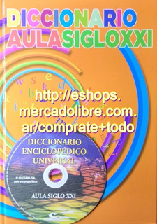 Diccionario Aula Siglo Xxi Con Cd Ed Cultural