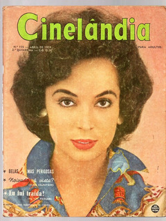 Revista Cinelandia Nº 155 - Brigitte Bardot Patricia Medina