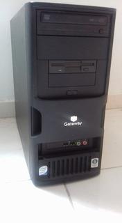 Cpu Gateway 1g Ram Procesador Core 2duo 2.6 Disco Duro 80g