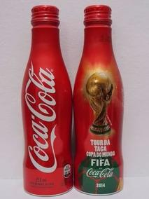 Coca Cola Garrafa De Aluminio Copa Do Mundo 2014 Unidade