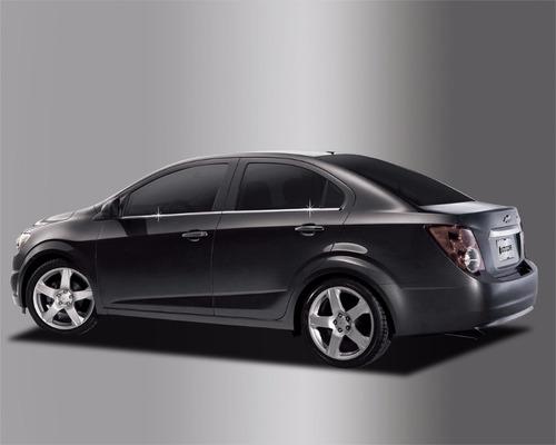 Molduras Cromadas Chevrolet Sonic  Sedan
